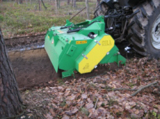 Forest Technology Centre forestry machinery  harvesting machine to soil preparation Poland